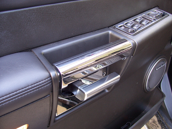 Billet door plate set hummer h2 accessory hummer accessories spares europe pieces for Hummer h3 interior accessories